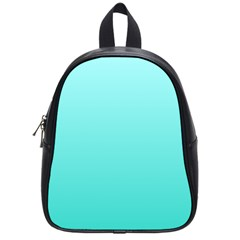 Celeste To Turquoise Gradient School Bag (Small)