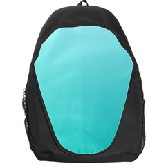 Celeste To Turquoise Gradient Backpack Bag