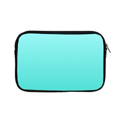 Celeste To Turquoise Gradient Apple iPad Mini Zipper Case