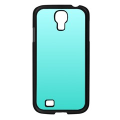 Celeste To Turquoise Gradient Samsung Galaxy S4 I9500 (black)