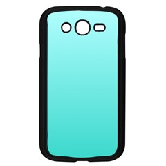 Celeste To Turquoise Gradient Samsung I9082(Galaxy Grand DUOS)(Black)