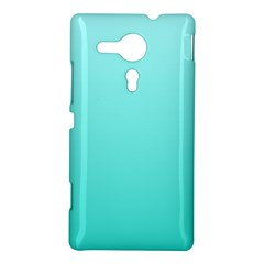 Celeste To Turquoise Gradient Sony Xperia Sp M35H Hardshell Case