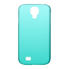 Celeste To Turquoise Gradient Samsung Galaxy S4 Classic Hardshell Case (pc+silicone)