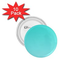 Turquoise To Celeste Gradient 1.75  Button (10 pack)