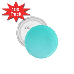 Turquoise To Celeste Gradient 1.75  Button (100 pack)