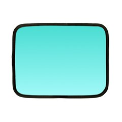 Turquoise To Celeste Gradient Netbook Case (Small)