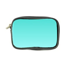 Turquoise To Celeste Gradient Coin Purse