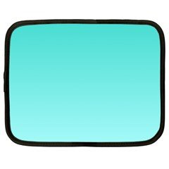 Turquoise To Celeste Gradient Netbook Case (xxl)
