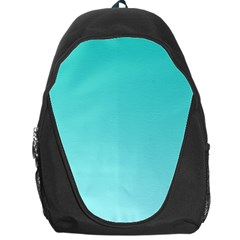 Turquoise To Celeste Gradient Backpack Bag