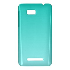 Turquoise To Celeste Gradient HTC One SU T528W Hardshell Case