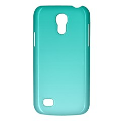 Turquoise To Celeste Gradient Samsung Galaxy S4 Mini Hardshell Case