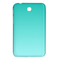 Turquoise To Celeste Gradient Samsung Galaxy Tab 3 (7 ) P3200 Hardshell Case