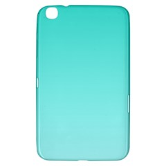 Turquoise To Celeste Gradient Samsung Galaxy Tab 3 (8 ) T3100 Hardshell Case