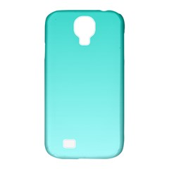 Turquoise To Celeste Gradient Samsung Galaxy S4 Classic Hardshell Case (PC+Silicone)