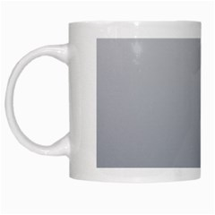 Gainsboro To Roman Silver Gradient White Coffee Mug