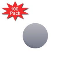 Gainsboro To Roman Silver Gradient 1  Mini Button (100 pack)