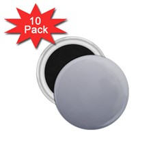 Gainsboro To Roman Silver Gradient 1.75  Button Magnet (10 pack)