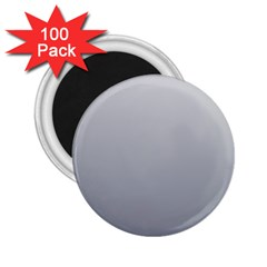 Gainsboro To Roman Silver Gradient 2.25  Button Magnet (100 pack)