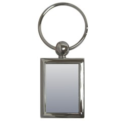 Gainsboro To Roman Silver Gradient Key Chain (rectangle)