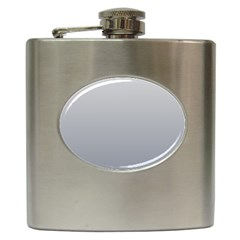 Gainsboro To Roman Silver Gradient Hip Flask
