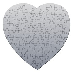 Gainsboro To Roman Silver Gradient Jigsaw Puzzle (Heart)