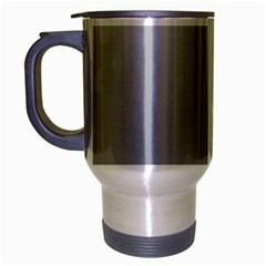 Gainsboro To Roman Silver Gradient Travel Mug (silver Gray)
