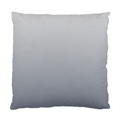 Gainsboro To Roman Silver Gradient Cushion Case (two Sides)