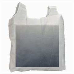 Gainsboro To Roman Silver Gradient Recycle Bag (Two Sides)
