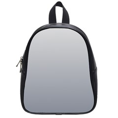 Gainsboro To Roman Silver Gradient School Bag (Small)