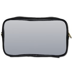 Gainsboro To Roman Silver Gradient Travel Toiletry Bag (one Side)