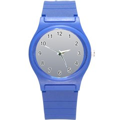 Gainsboro To Roman Silver Gradient Plastic Sport Watch (small)