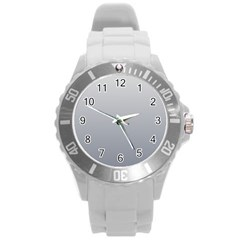 Gainsboro To Roman Silver Gradient Plastic Sport Watch (Large)