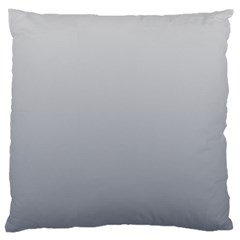 Gainsboro To Roman Silver Gradient Large Cushion Case (two Sides)