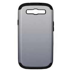 Gainsboro To Roman Silver Gradient Samsung Galaxy S III Hardshell Case (PC+Silicone)