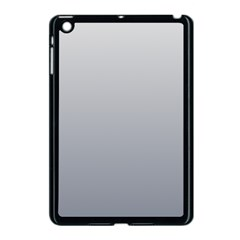 Gainsboro To Roman Silver Gradient Apple iPad Mini Case (Black)