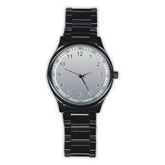 Gainsboro To Roman Silver Gradient Sport Metal Watch (Black)