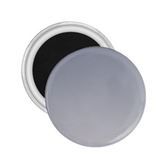 Roman Silver To Gainsboro Gradient 2.25  Button Magnet