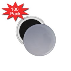 Roman Silver To Gainsboro Gradient 1.75  Button Magnet (100 pack)