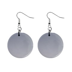 Roman Silver To Gainsboro Gradient Mini Button Earrings
