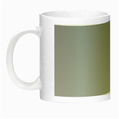 Roman Silver To Gainsboro Gradient Glow in the Dark Mug