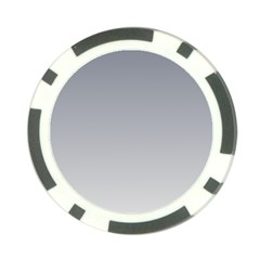 Roman Silver To Gainsboro Gradient Poker Chip 10 Pack