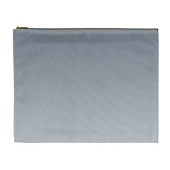 Roman Silver To Gainsboro Gradient Cosmetic Bag (xl)