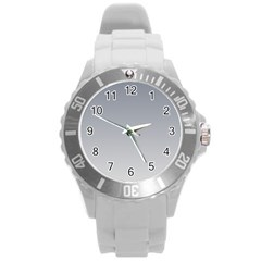 Roman Silver To Gainsboro Gradient Plastic Sport Watch (Large)