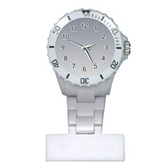 Roman Silver To Gainsboro Gradient Nurses Watch