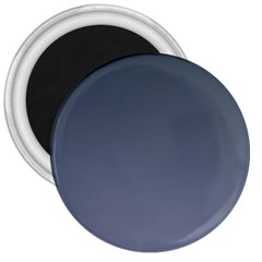 Charcoal To Cool Gray Gradient 3  Button Magnet