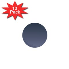 Charcoal To Cool Gray Gradient 1  Mini Button (10 pack)