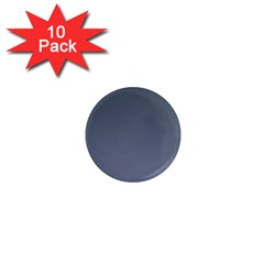 Charcoal To Cool Gray Gradient 1  Mini Button Magnet (10 pack)