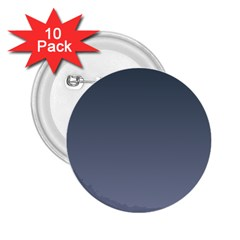 Charcoal To Cool Gray Gradient 2.25  Button (10 pack)