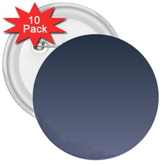 Charcoal To Cool Gray Gradient 3  Button (10 Pack)
