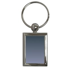 Charcoal To Cool Gray Gradient Key Chain (Rectangle)